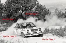 Walter Rohrl ALITALIA FIAT 131 Abarth Rally San Remo 1979 fotografia 3