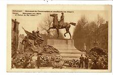 CPA Carte Postale Belgique-Anvers Monument aux Morts et Statue du Roi Albert ier