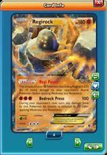 Regirock EX Regular Art 43/124 Pokemon TCG Online (Digital card) PTCGO