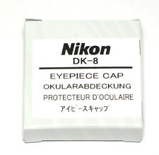 Nikon okularverschlußkappe dk-8 pour f90x f801 d1x f100-Eyepiece Cap (Nouveau/Neuf dans sa boîte)