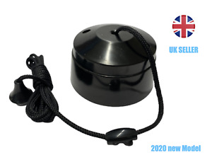 Ceiling Pull Cord Switch 10A 2Way Bathroom/Toilet Light Switches BLACK