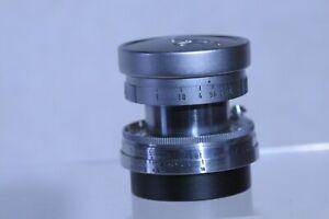 Leica Summarcn 50mm F2 Collapsible SM Lens w/Caps