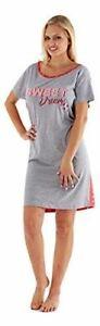 Ladies Night shirt wear dress Short Sleeve Nightie Loungewear Womens Pyjamas