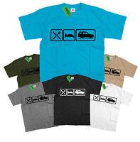 Mens Eat Sleep Land Rover Discovery T Shirt Landrover Disco S - 5XL