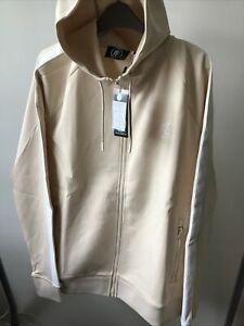 GYM KING SAND XL MENS ZIP FRONT TRACK TOP. NEW SEASON £29