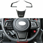 Car Steering Wheel Sequins Cover Trim For Subaru Outback Bt 2020-2022 Parts 4pcs