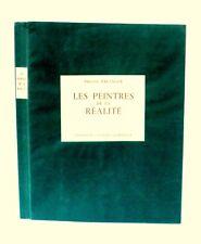 LES PEINTRES DE LA RÉALITÉ Philippe ERLANGER   - Ed Galerie CHARPENTIER 1946