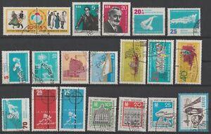 DDR 1962: schönes Lot aus Mi-Nr 891 bis 916 gestempelt
