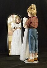 "Danbury Mint Porcelain Dolls,Norman Rockwell ""Cover Girl"" Collection, Prom Dress"