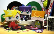 Panty & Stocking with Garterbelt Graphig Paper Toy Figure set of 3 Cospa New
