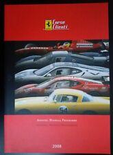 Ferrari Corse Clienti 2008 Catalogo Brochure - Mugello Historic
