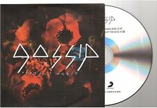 GOSSIP perfect world CD PROMO france french papersleeve pochette papier