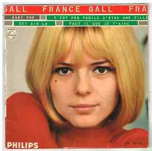 """France GALL    Baby pop      7"""" 45 tours EP"""