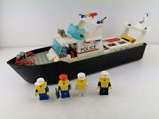 Lego® Classic Town City Boot Schiff Schiffsrumpf Polizei Police mit Figuren