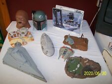 LOT OF VINTAGE GALOOB MICRO MACHINES STAR WARS SHIPS & FIGURES  ~ 1990's