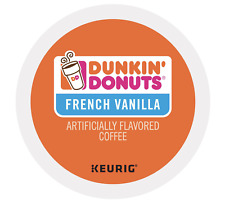 Dunkin Donuts French Vanilla Keurig K-Cups 24 Count - FREE SHIPPING