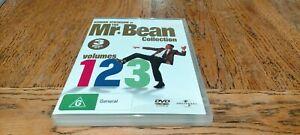 Mr. Bean Collection - 3 DVD set 1, 2 & 3 - Rowan Atkinson - FREE POST - As New
