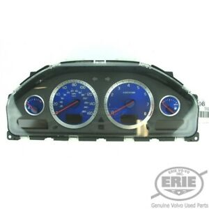 Volvo OEM R Instrument/DIM/Speedometer 30746105 w/Blue Gauges S60R V70R 06-07