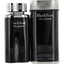 Black Soul TED LAPIDUS Eau de Toilette Herren 100ml + 1 Kostenlose Probe