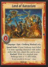 Warlord CCG - Warlord Saga of the Storm: Lord of Baraxton (Fixed Action CE)