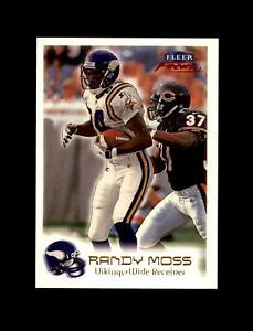 1999 Fleer Focus Football #1 Randy Moss (Vikings) MINT