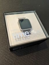 Pebble Time Steel 38mm Stainless Steel Case - Metal Band