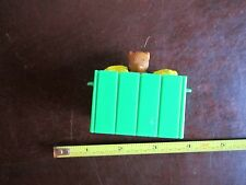 Fisher Price Little People Food Farm Crate Corn Gopher Market Trailer Cart Toy