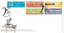 (14875) GB FDC Commonwealth Games Wimbledon Championships 16 July 2002