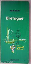 Bretagne Bretagna Guida Michelin originale del 1972 - in francese Francia