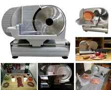 Electric Meat Slicer Heavy Blade Stainless Steel Deli Cheese Bread Cutter Food