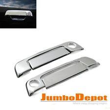 4Pcs For BMW E36 3-Series/E34 5-Series/Z3 2DR Chrome Side Door Handle Cover Trim