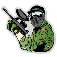"""Paintball Sniper car bumper sticker window decal 4"""" x 4"""""""