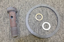 NEW Mopar Small Block Oil Filter Adaptor bolt and Gasket Kit