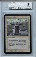 MTG Alpha Consecrate Land BGS 8.0 (8) NM-MT Card Magic Gathering WOTC 3752