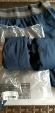 """Lululemon No Boxer 3 Pack S Small Navy Blue Long One Tall Underwear 7.5"""" Inseam"""