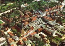 AK, Eutin Holst. Schweiz, Luftbild mit Kirche St. Michaelis, Version 2, um 1973