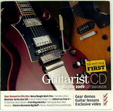 Guitarist CD August 2009 CD ONLY Rivera Yamaha Blackstar TC Electronic Nova ROCK