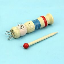 Wooden Braided Maker Yarn Wool Knitter Knitting DIY Doll Craft Loom Rope