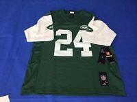 vtg 80s 90s nfl Nike New York Jets New NFL football shirt jersey men Small