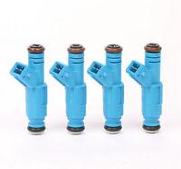 Set of 4 24lb Fuel Injectors For BMW Ford M10 Turbo DOHC 420a 250cc/min TT