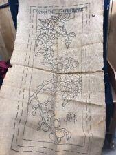 Primitive Rug Hooking Pattern 'Goyam Tree' by Rug Crafters