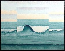 """Catherine Hobart """"Third Wave II"""" Signed & Numbered Serigraph Art, Make An Offer!"""