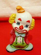 Vintage Ardco Fine Quality Hand Paint Ceramic Clown Figurine