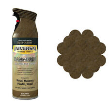 x12 Rust-Oleum Universal All-Surface Spray Paint 400ml Any Angle Brown Hammer