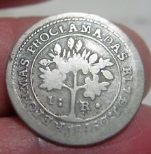 "1847 JB (COSTA RICA)1 REAL (SILVER) ""REFORMAS PROCLAMADA"" (""B"" regular no error)"
