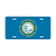 "South Dakota State Flag Vanity Licence Plate 6"" x 12"" Aluminum Plate"