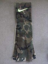 Nike Amplified Football Towel Green Woodland Camo Print New