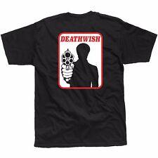 DEATHWISH SKATEBOARDS - BRONSON T SHIRT TEE - BLACK - XL - NEW SKATE GUN GRECO