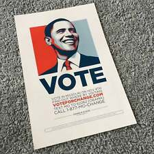 "President Barack Obama ""Vote"" hope Poster"
