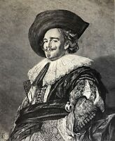 Un Rider Xylography after Frans I Hals (1580-1666) towards 1870
